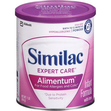 Similac Expert Care ® Alimentum ® Powder Infant Formula with Iron 1 lb. Canister