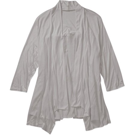 d679f084b39 ONLINE - French Laundry Women s Plus-Size Knit Flyaway Cardigan ...