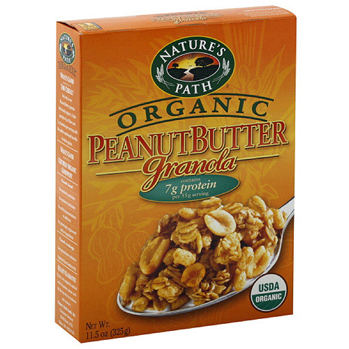 Nature's Path Organic Peanut Butter Granola, 11.5 oz (Pack of 12)