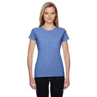 Fruit of the Loom Ladies' 4.7 oz. Sofspun Jersey Junior Crew T-Shirt
