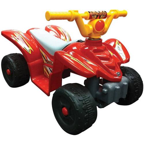 Kid Motorz Quad Cruiser 6-Volt Battery-Powered Ride-On