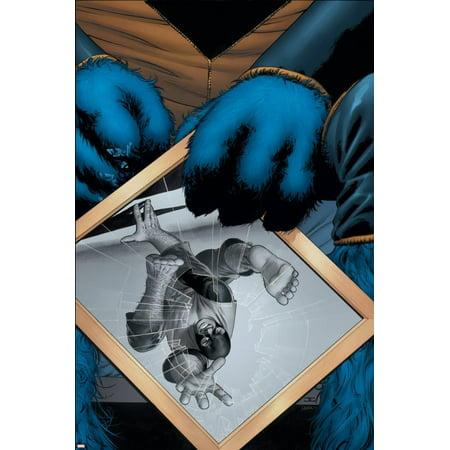 Astonishing X-Men No.4 Cover: Beast Print Wall Art (Xmen Blue Beast)