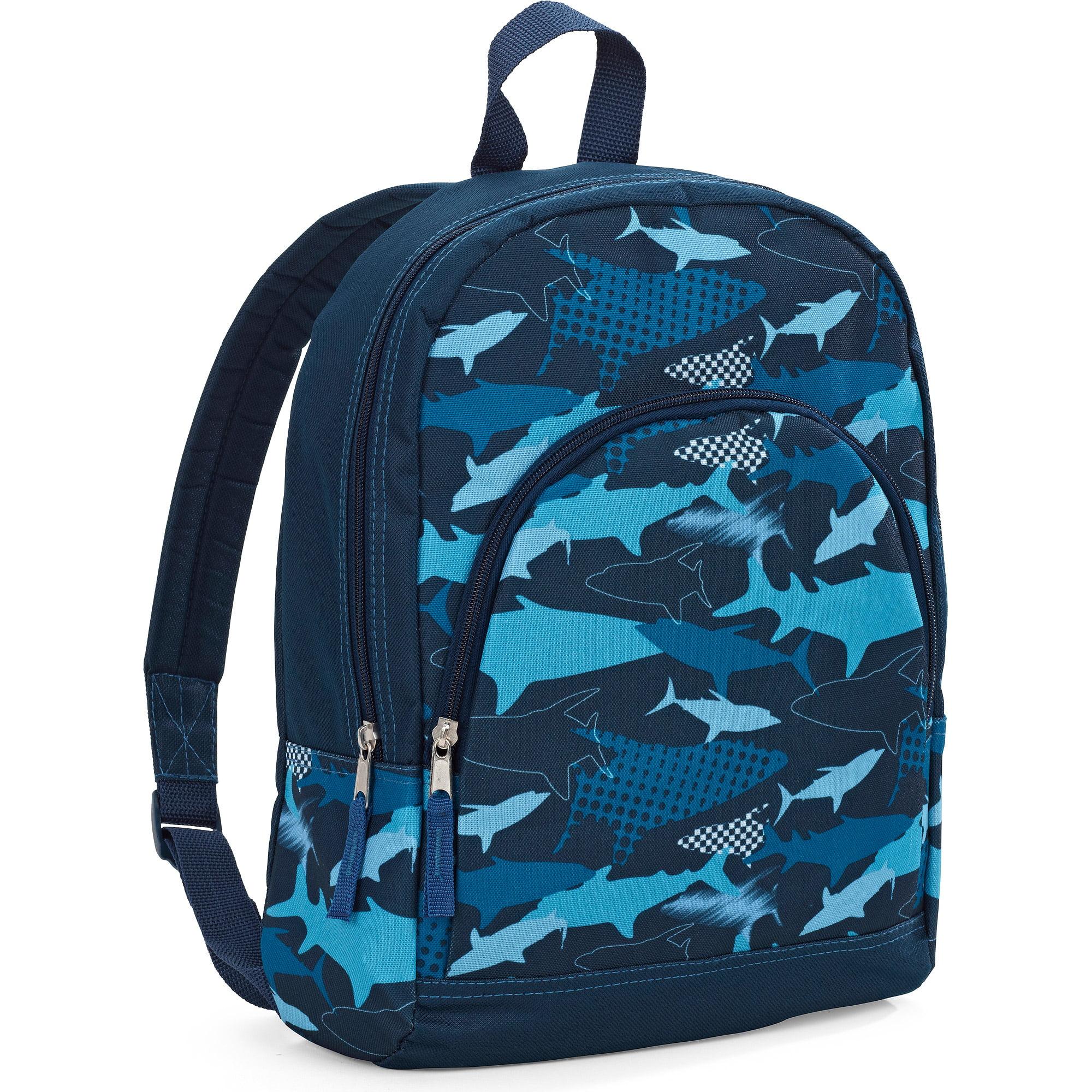 "15"" Printed Zip Front Pocket Backpack"