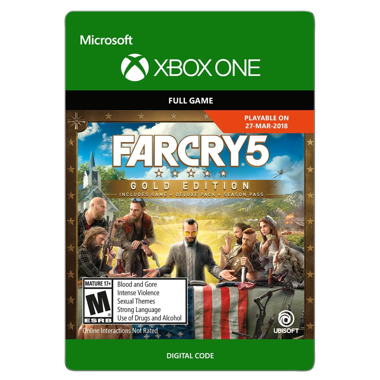 Far Cry 5 Gold, Ubisoft, Xbox, [Digital Download], 799366686064