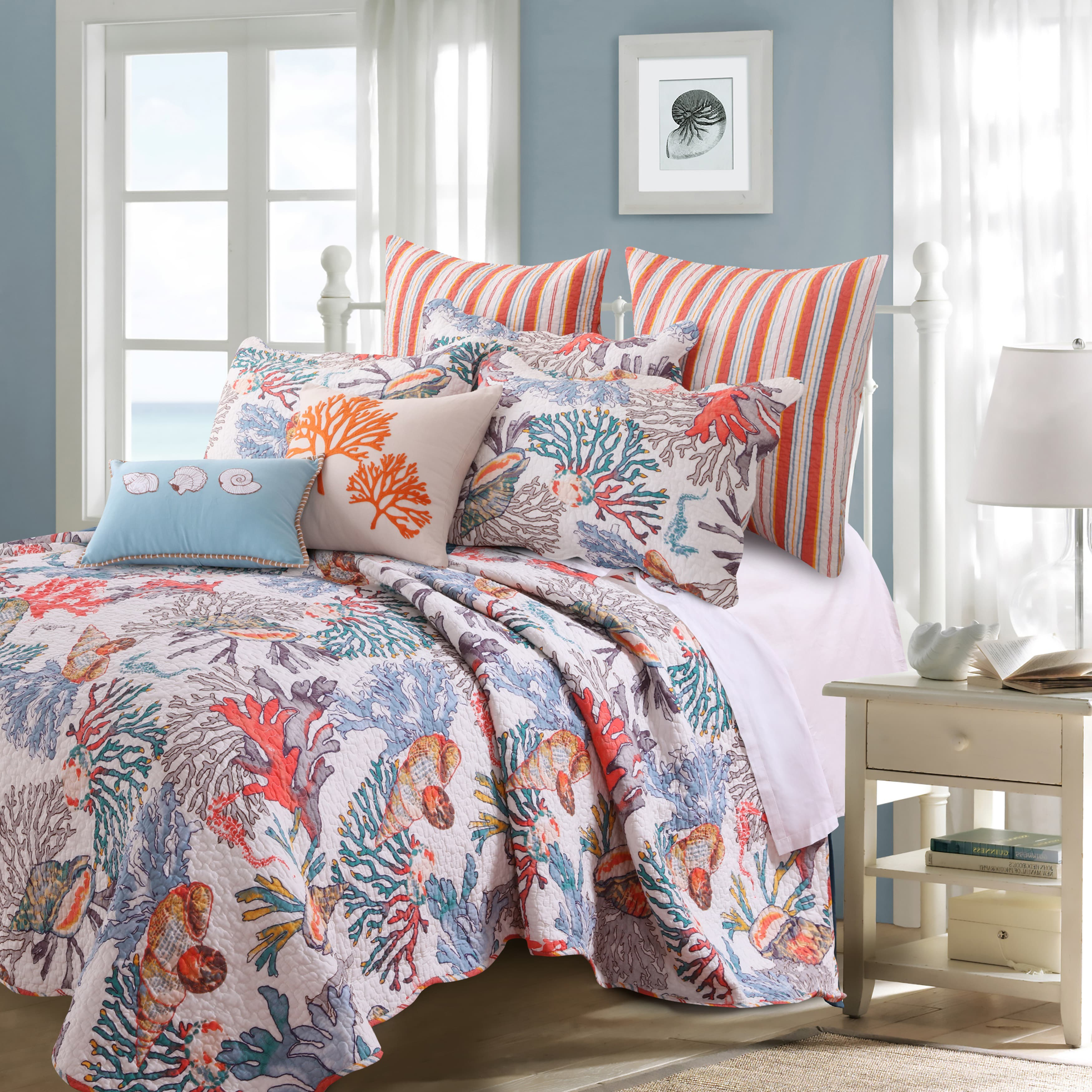 Barefoot Bungalow  Atlantis 5-Piece Quilt Set