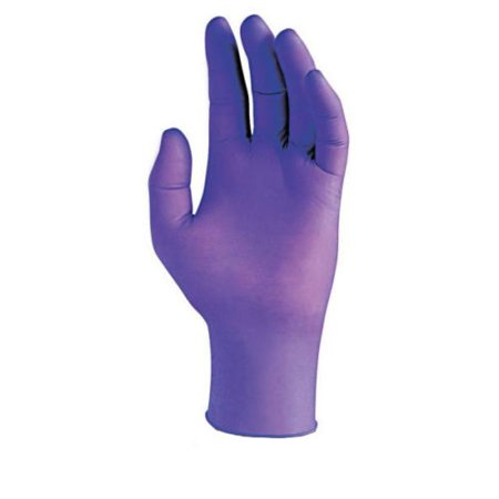 Blue Nitrile Medical Grade Gloves, Powder Free & Economy, Disposable Medium, 100