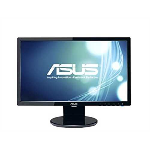 Refurbished ASUS VE198T 19 WXGA+ 1440x900 DVI VGA Back-lit LED Monitor