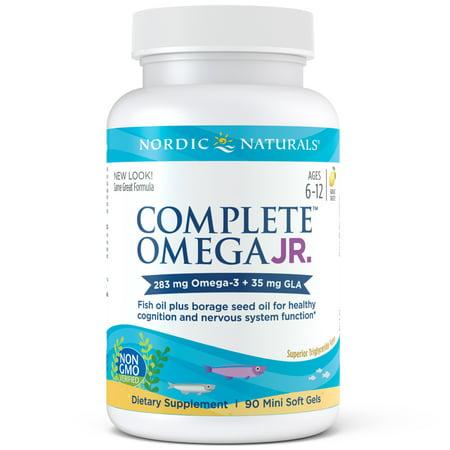 Nordic Naturals Complete Omega Junior Softgels, 283 Mg, 90 Ct