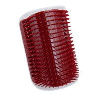 Pet Cats Safe Comfortable Self Grooming Brush for Wall Corner Free Hand Cats Massage Comb