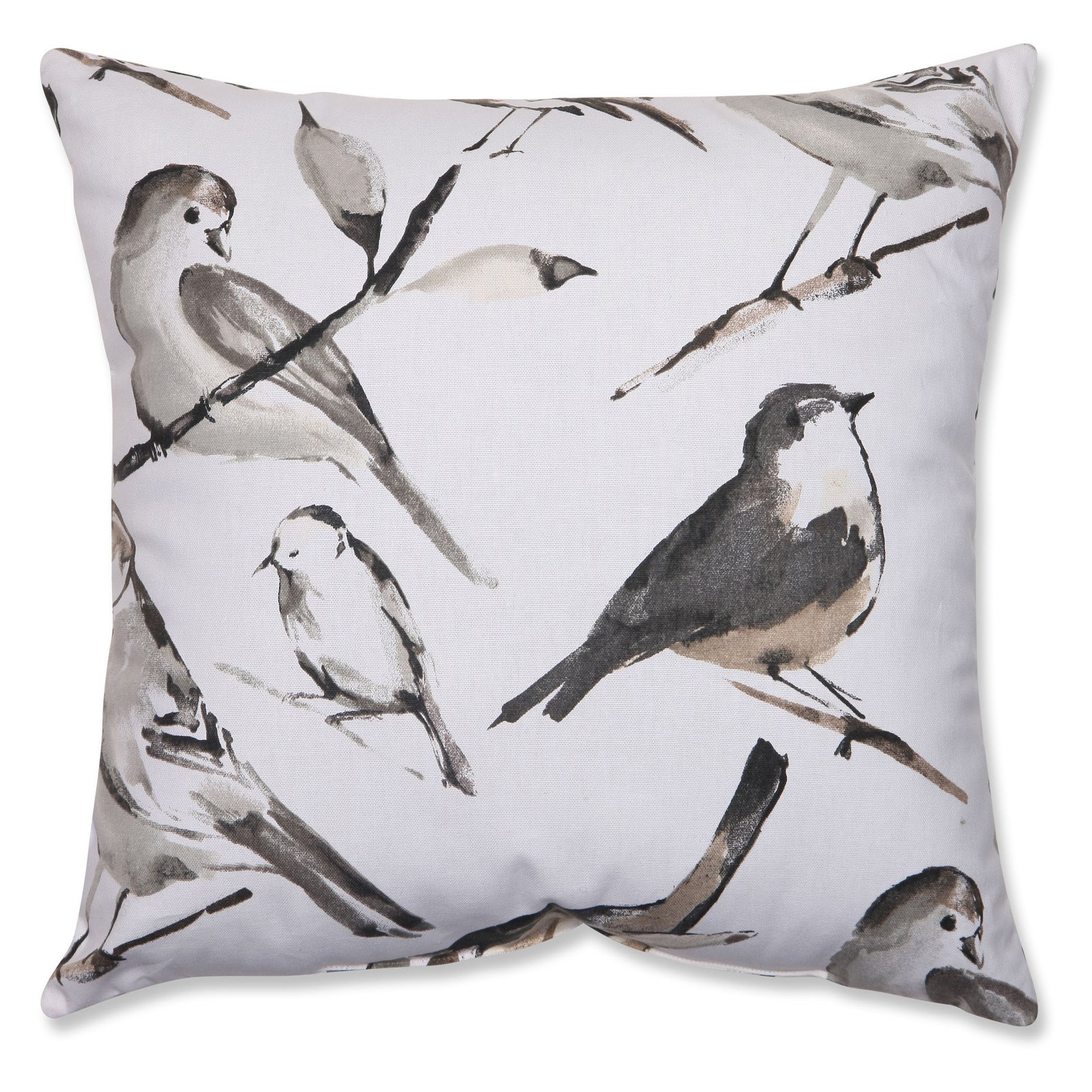 Pillow Perfect Bird Watcher Throw Pillow