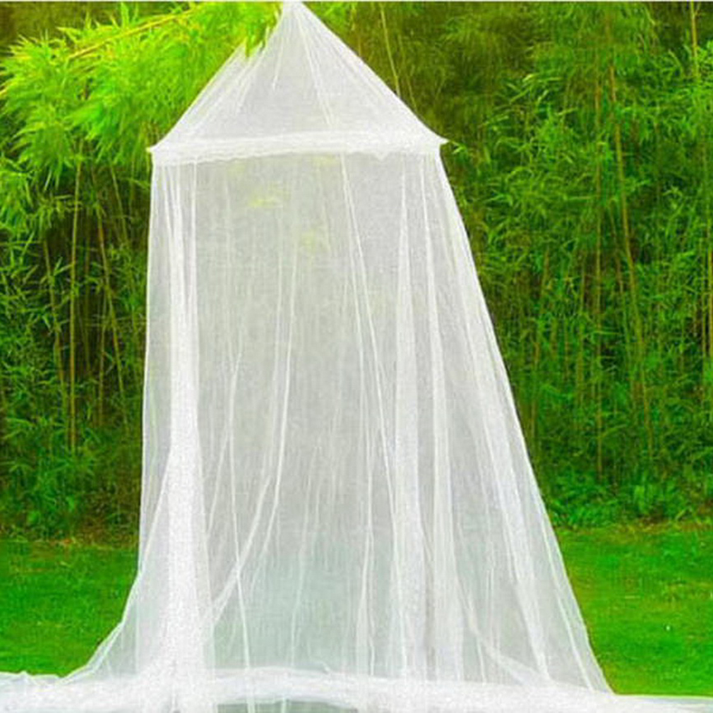 Outad Outdoor Round Lace Insect Bed Canopy Netting Curtain Hung Dome Mosquito Nets Withe