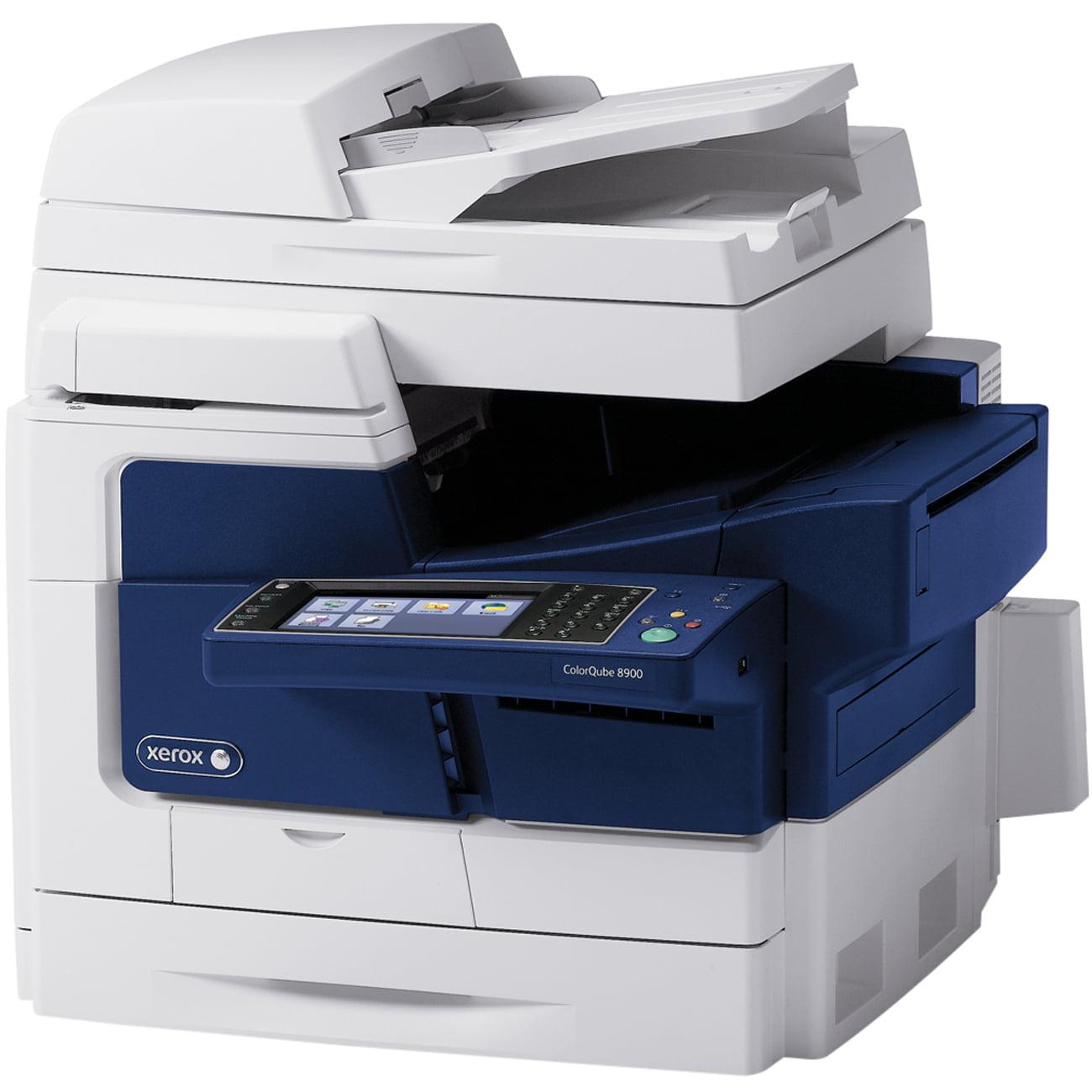 Xerox ColorQube 8900X Solid Ink Multifunction Printer - Color - Plain Paper Print - Desktop - Copier/Fax/Printer/Scann