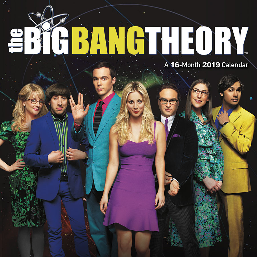 2019 The Big Bang Theory Wall Calendar by Trends International