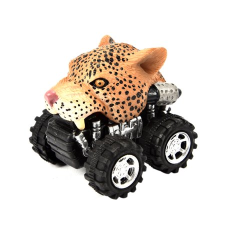 eb913f41 Mini Vehicle Animal Pull Back Cars with Big Tire Wheel Creative Gifts for  Kids - Walmart.com