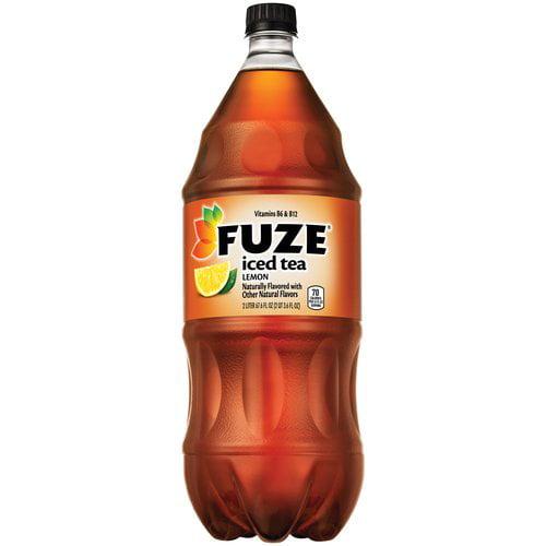 Fuze Lemon Iced Tea, 2 l - Walmart.com