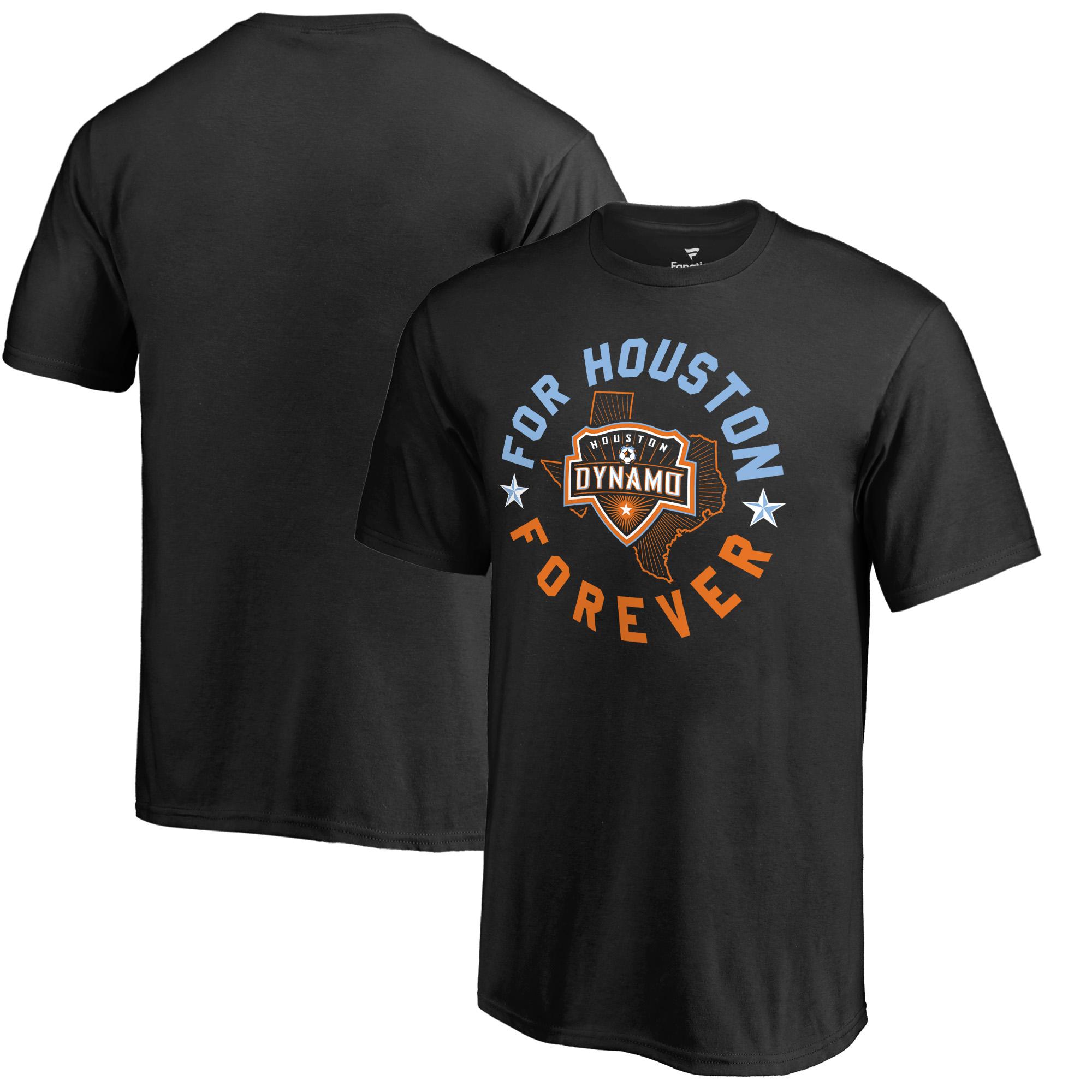 Houston Dynamo Fanatics Branded Youth Forever Arch T-Shirt - Black