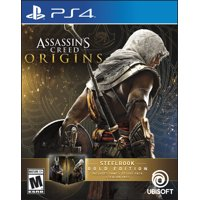 Assassin's Creed: Origins Steelbook Gold Edition, Ubisoft, PlayStation 4, 887256028527
