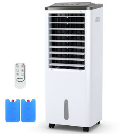 Costway Portable Air Conditioner Cooler Fan Filter Humidify W/ Remote Control 3 Modes