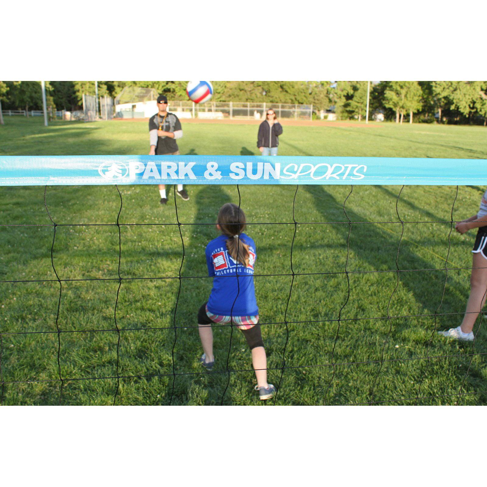 park u0026amp sun usyvl youth volleyball net system walmart com