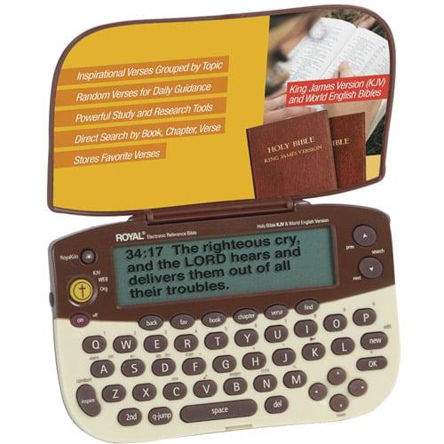 Royal 39127H ETB1 Electronic Bible Reference Book