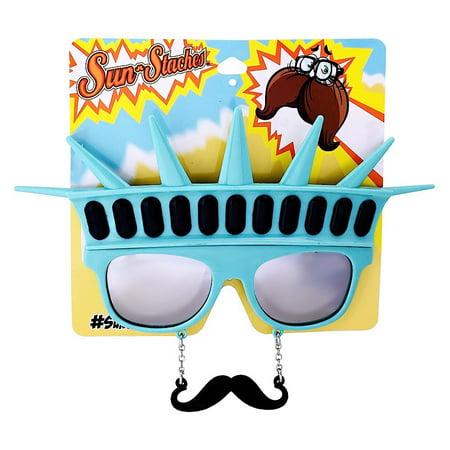 Liberty Sun-Stache Sunglasses