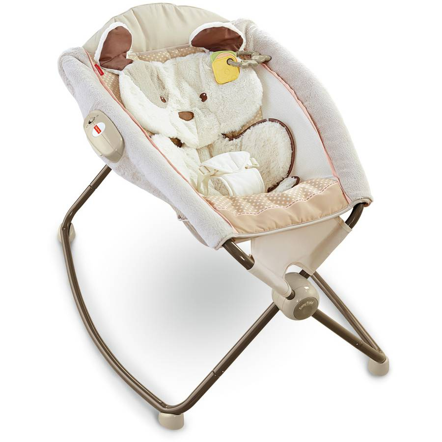 Fisher-Price Deluxe Newborn Rock 'n Play Sleeper, My Little Snugapuppy