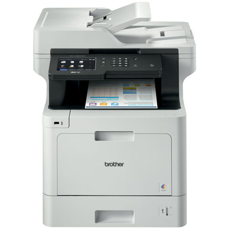 Brother MFC-L8900CDW Business Color Laser All-in-One Printer, Advanced Duplex & Wireless Networking, High-Quality Business Printing, Flexible Network Connectivity, Mobile Device Printing &