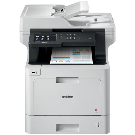Brother MFC-L8900CDW Business Color Laser All-in-One Printer, Advanced Duplex & Wireless Networking, High-Quality Business Printing, Flexible Network Connectivity, Mobile Device Printing & Scanning ()
