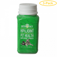UrthPet Hip & Joint Pet Health Supplement Powder 10 oz - Pack of 3