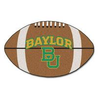 "Baylor Football Rug 20.5""x32.5"""