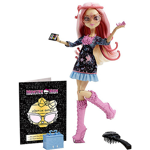Monster High Frights Camera Action Hauntlywood Viperine Gorgon Doll