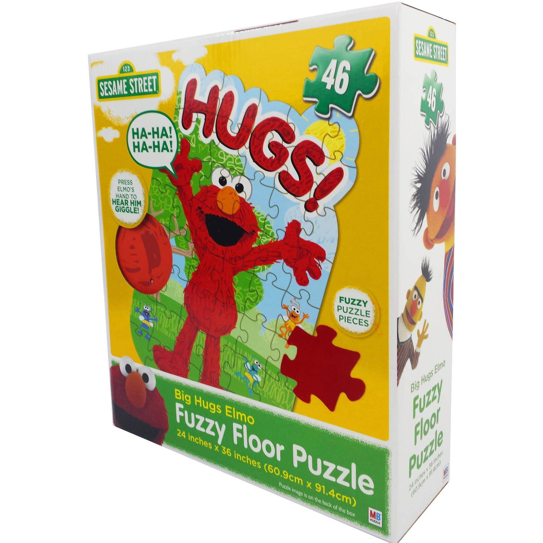 Sesame Street Elmo Big Hug Floor Puzzle with Sound