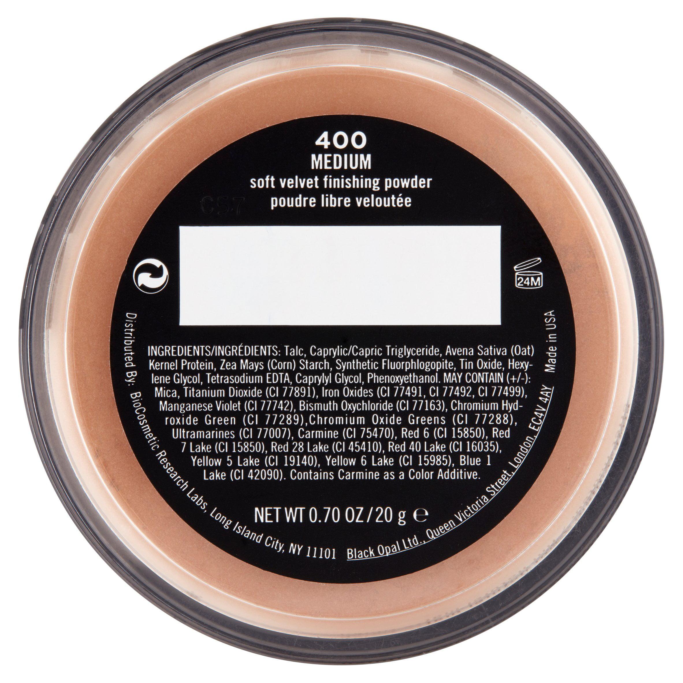 TRUE COLOR Soft Velvet Finishing Powder by Black Opal #19