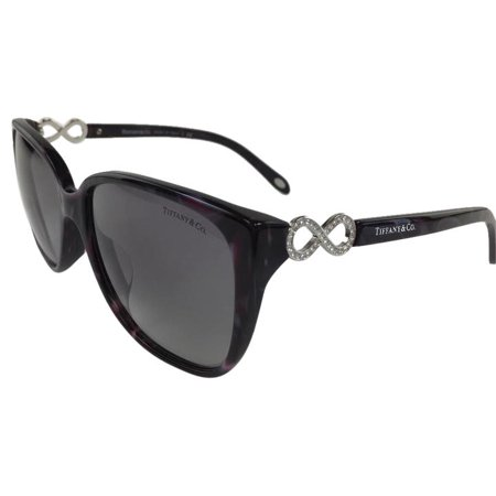 Tiffany & Co TF 4111-B-F 8201/3C Pink Grey Silver Plastic Sunglasses 57mm](Tiffany And Co Bags)