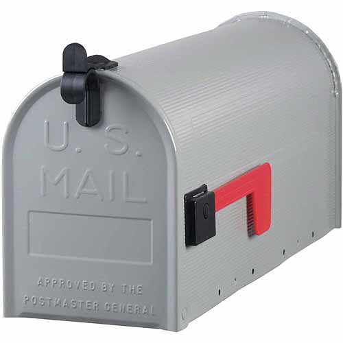 Solar Group Inc ST10 Standard-Gauge Galvanized Steel Mailboxes