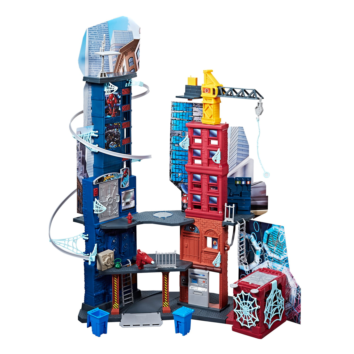 Marvel Spider-Man Mega City Playset by Hasbro Inc