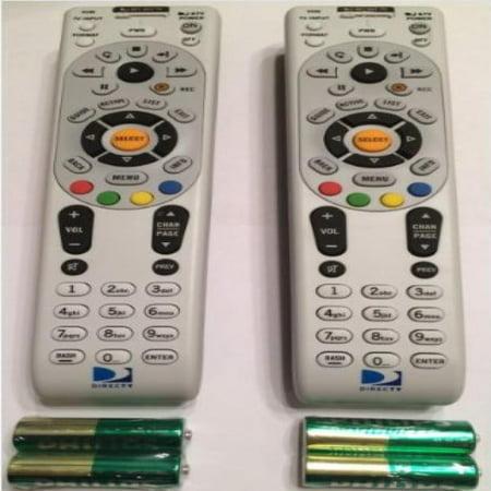 DirecTV Remote Control RC65X 2 Pack IR Remote Control NEW W/Batteries H24 H25 HR24