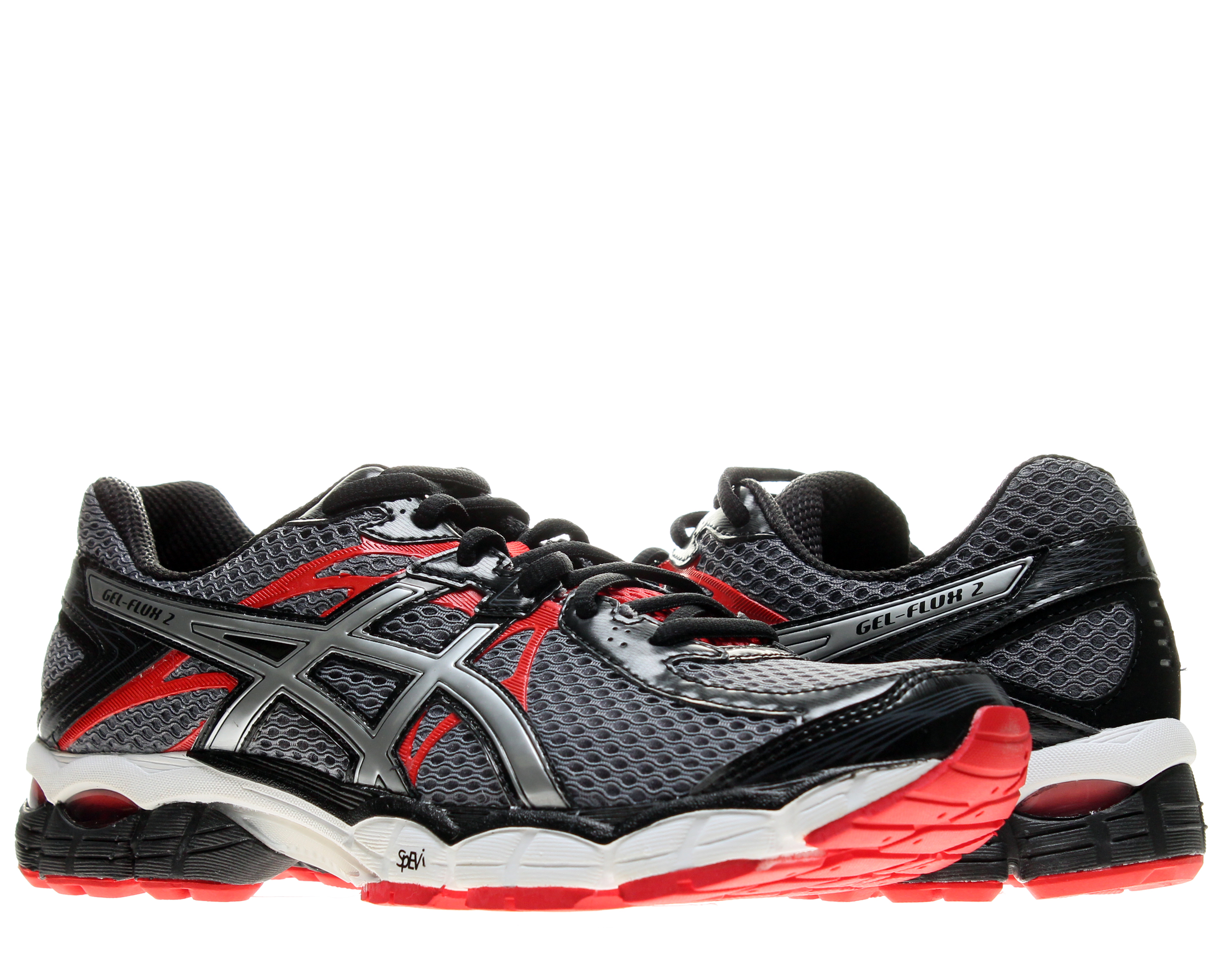 Asics Gel-Flux 2 Carbon Lightning-Red Men's Running Shoes T518N-7491 by Asics