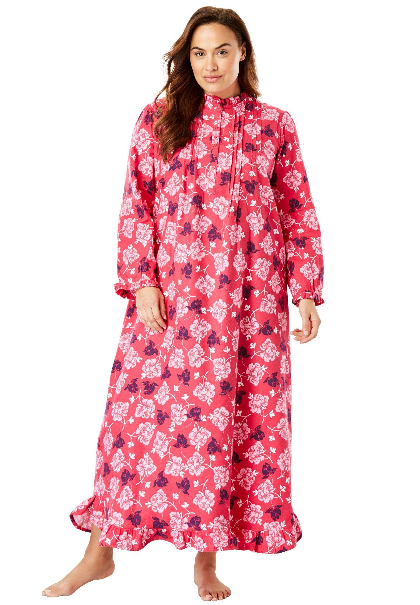 Womens Plus Nightshirts Gowns Walmartcom