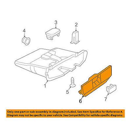 Dodge CHRYSLER OEM 03-06 Sprinter 3500-Dash Glove Compartment Box Door 5104260AA Glove Compartment Door