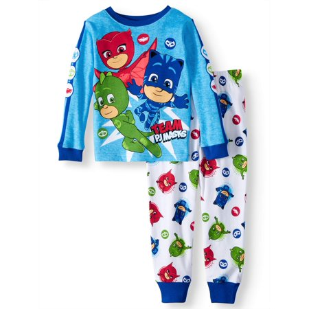 PJ Masks Cotton Tight Fit Pajamas, 2-piece Set (Toddler Boys)