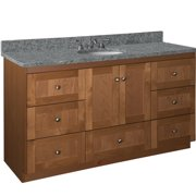 Millwood Pines Lysette 60'' Single Vanity Base Only