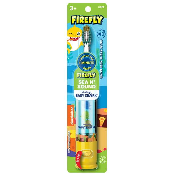 Firefly Baby Shark SEA & SOUND Toothbrush 1ct - Walmart.com - Walmart.com