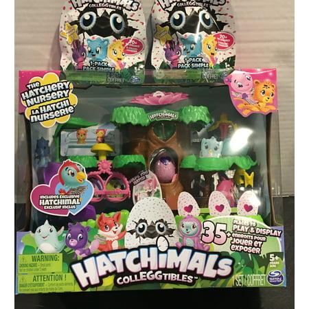 Hatchimals Nursery Playset Bundle Plus 2 1 Pack Blind Bags