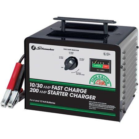 Schumacher 200 30 10 Amp Manual Starter Charger