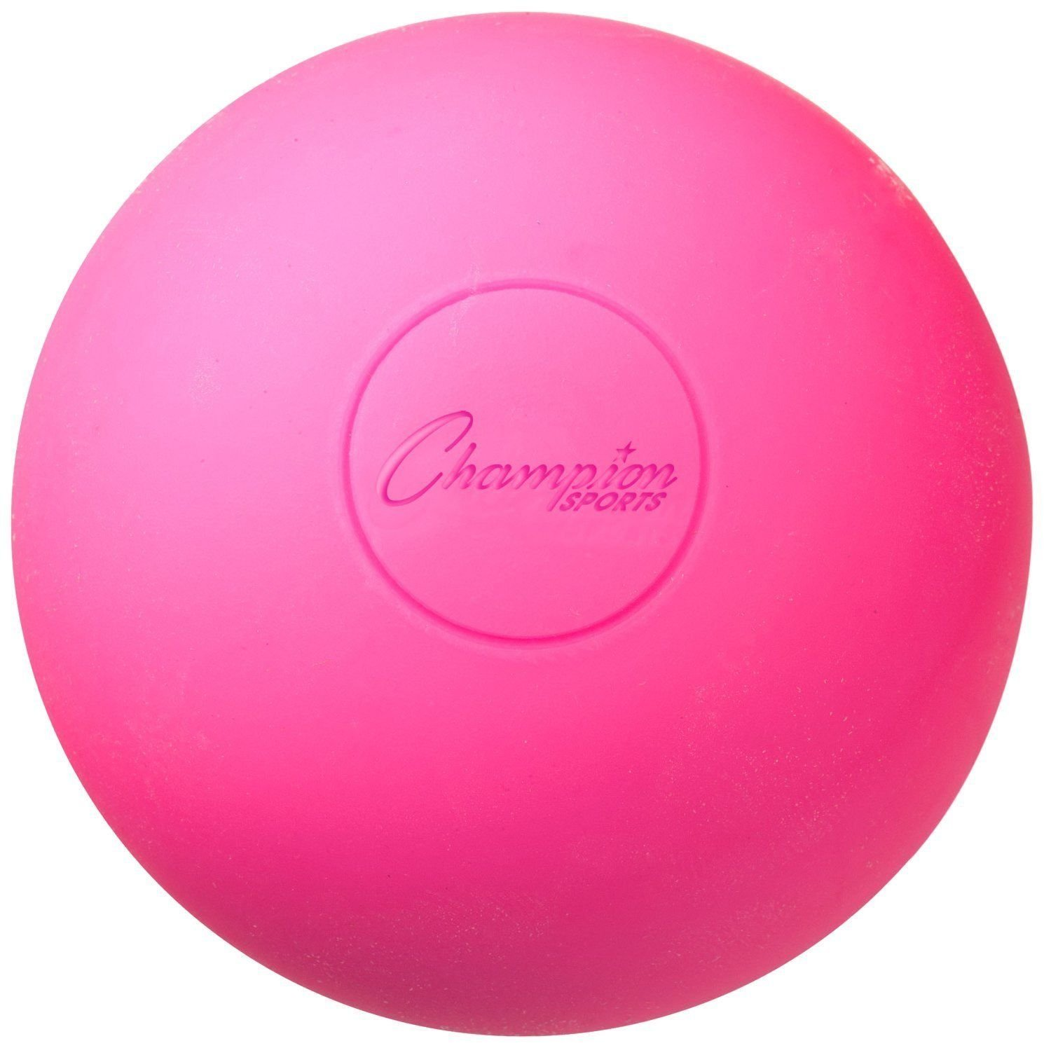 Lacrosse Balls - NCAA NFHS Certified - Pink, You will receive (1) pink lacrosse ball By Champion Sports