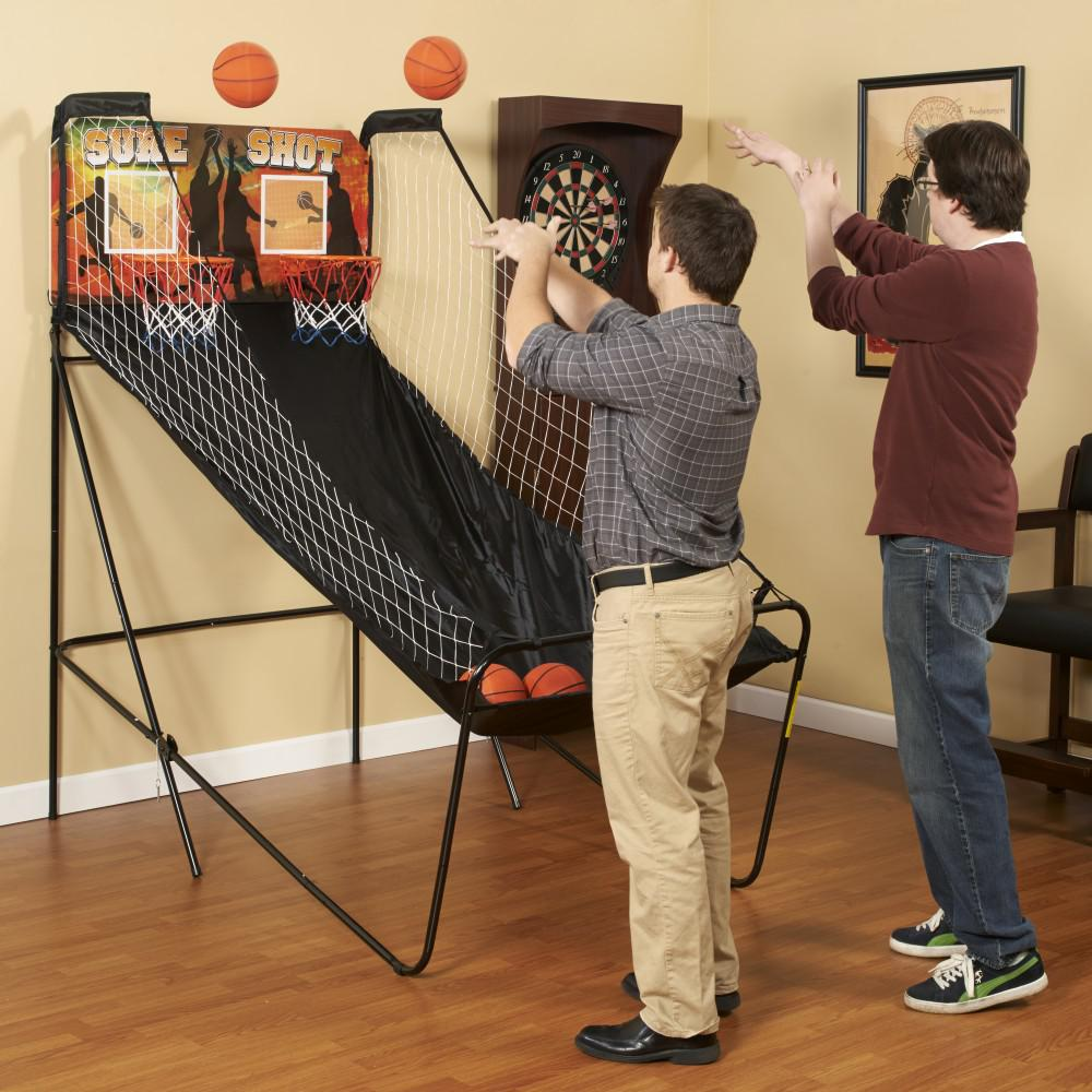 BlueWave Products BASKETBALL NG2233BL Sure Shot Electronic Basketball