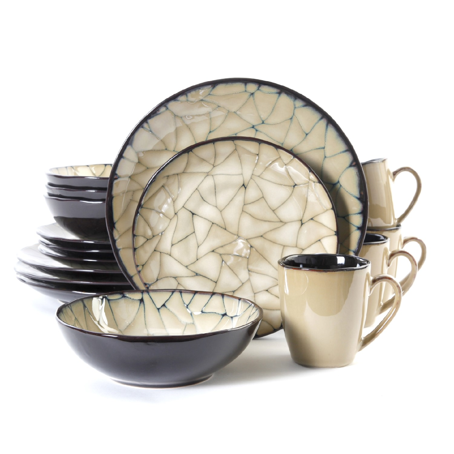 Gibson Elite Zambezi 16 Pc. Dinnerware Set