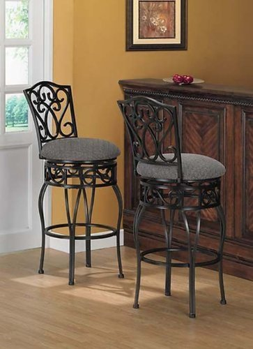 Chase 30 Inch Bar Stools Pack Of 2 Walmart Com