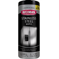 Weiman Stainless Steel Cleaner Wipes - 30 Count